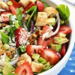 Strawberry Spinach Salad with Feta
