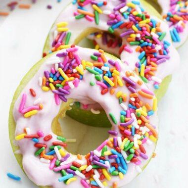 Apple Donut Slices