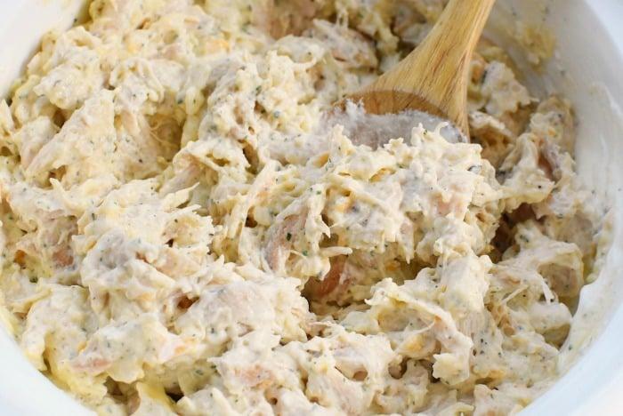 Chicken casserole mixture