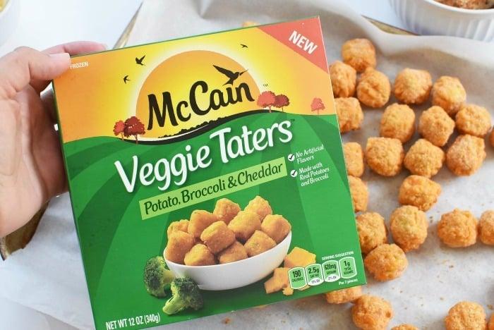 McCain Potato, Broccoli and Cheese Tots