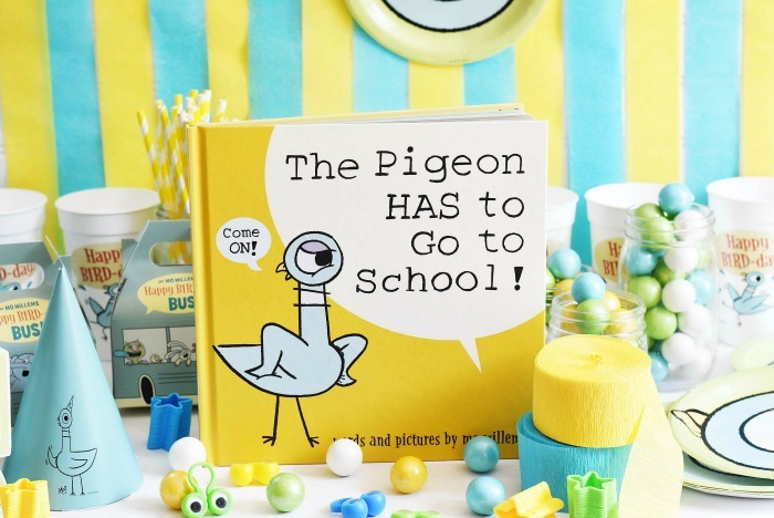 The Pigeon Goes to School Book party