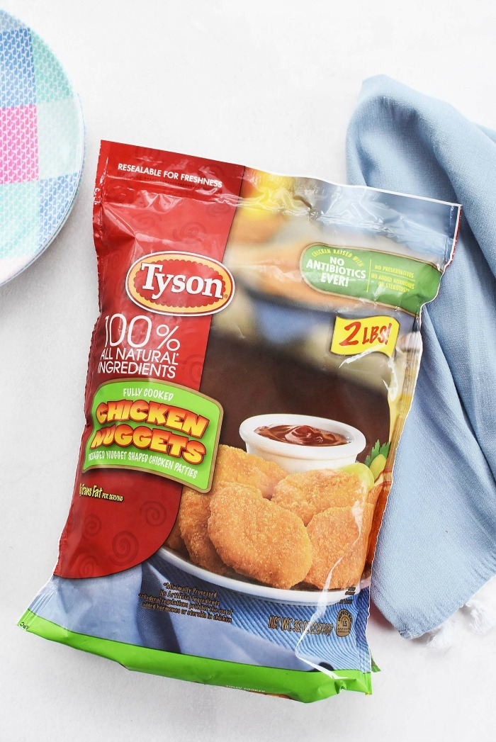 Tyson Chicken Nuggets bag