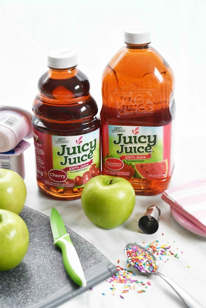 juicy juice juice and apple snack