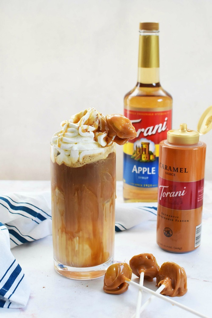 Caramel Apple Iced Latte