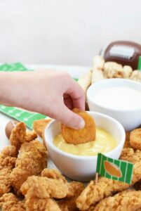 Dipping nuggets