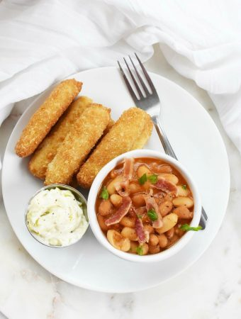 Fish Sticks and Beans