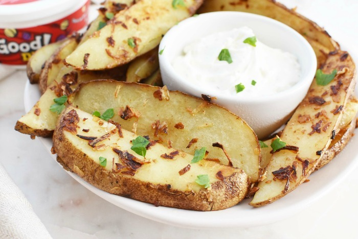 French Onion Potato Wedges