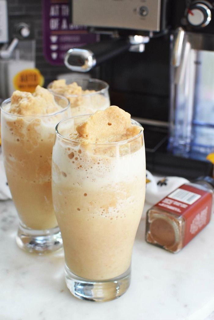 Frozen Pumpkin Coffee with Mr Coffee