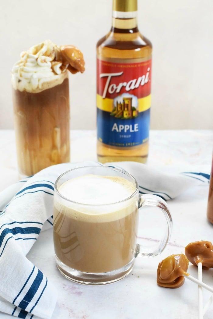 Hot Caramel Apple Latte Recipe