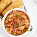 Stove top Baked Beans with Bacon