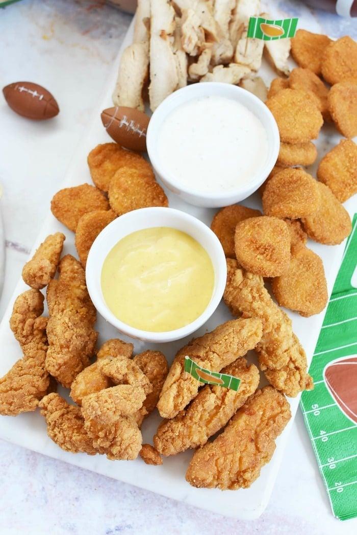 Tyson Chicken Dipping platter