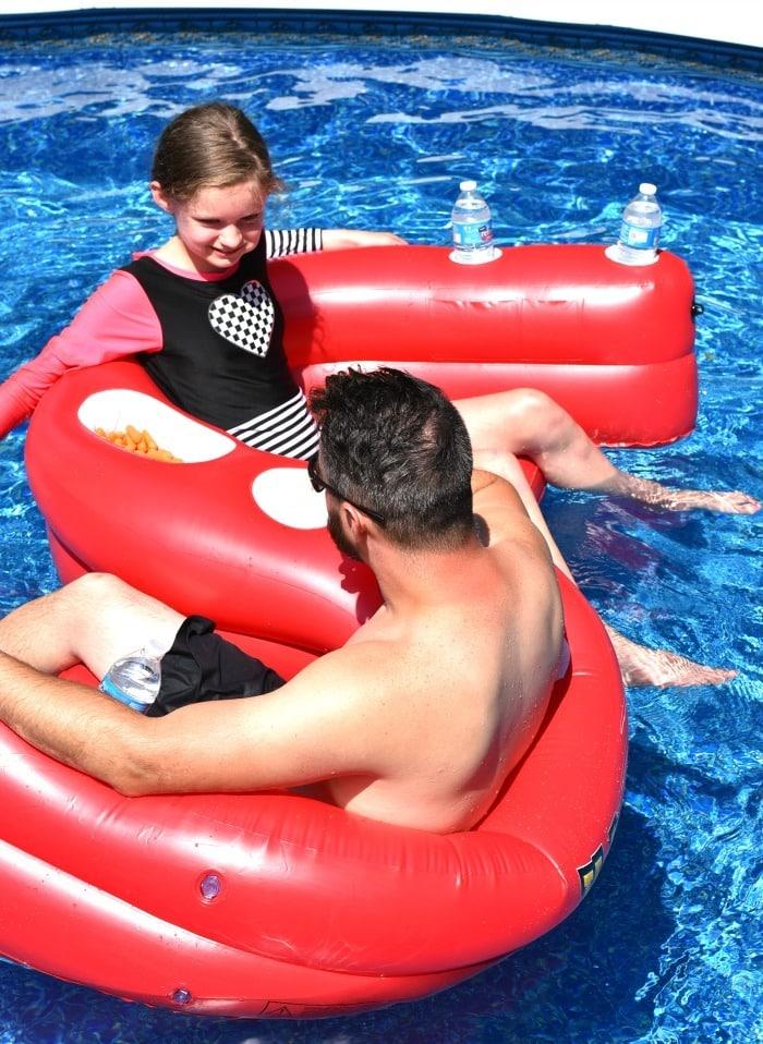 heluva good pool float