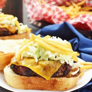 Cheesesteak Burger Recipe