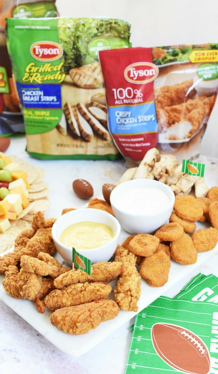 Chicken snack board