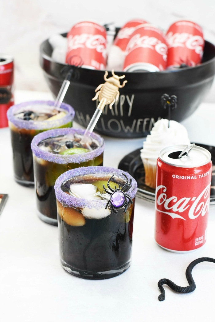 Coca Cola Halloween Cocktail