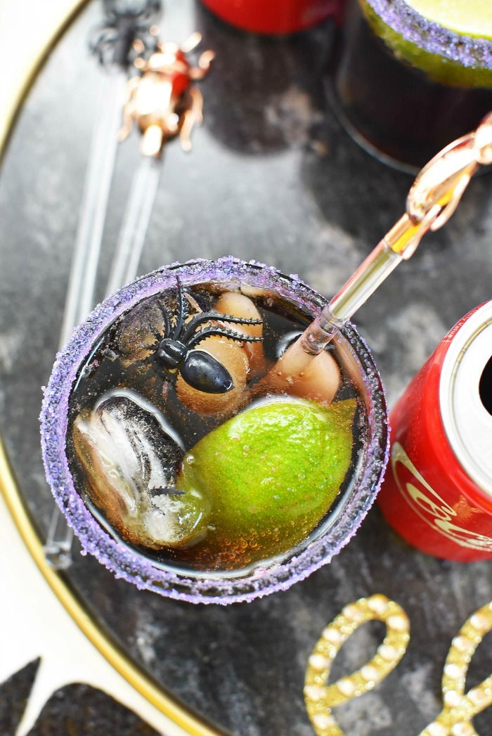 Coke Halloween Cocktail