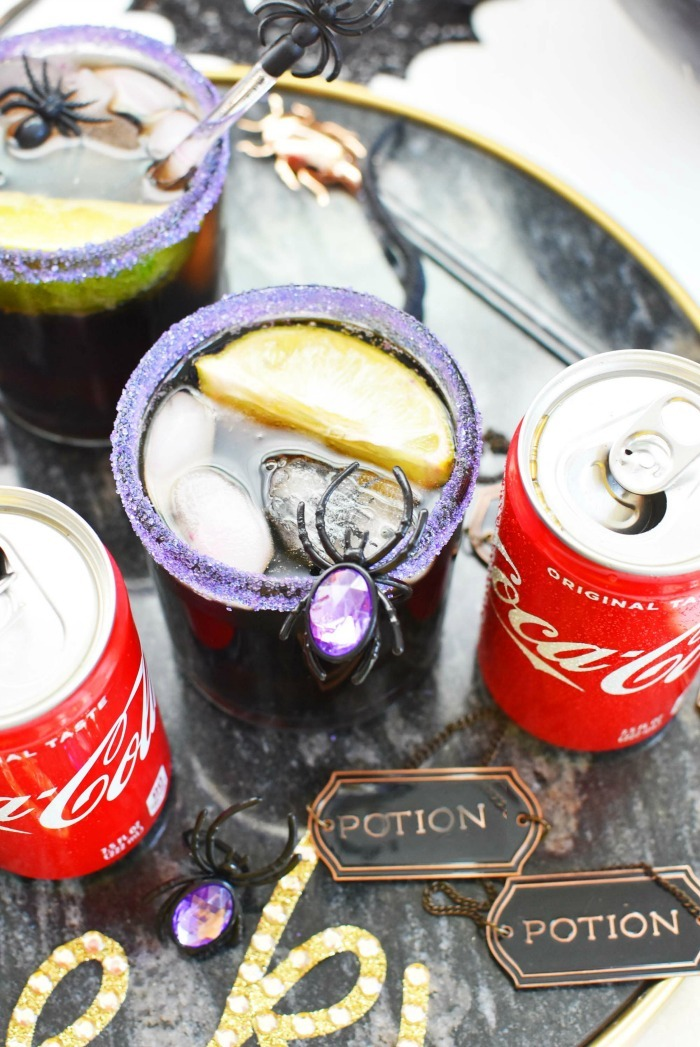 Coke Halloween Cocktail Recipe