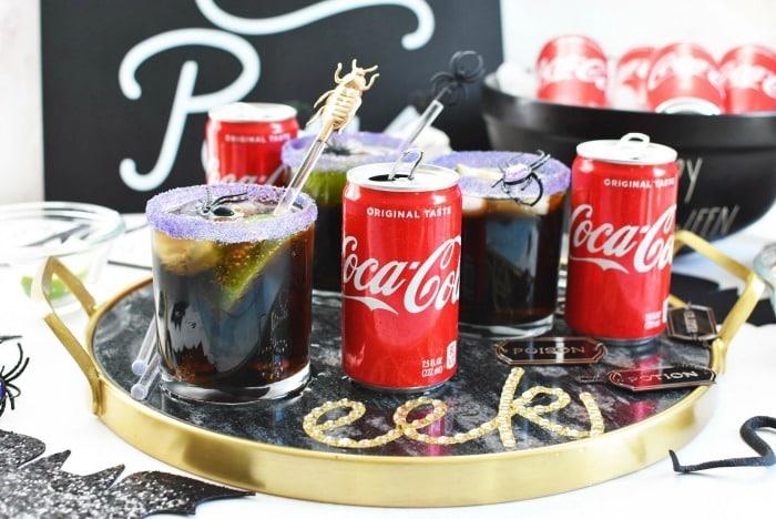 Coke Halloween drinks