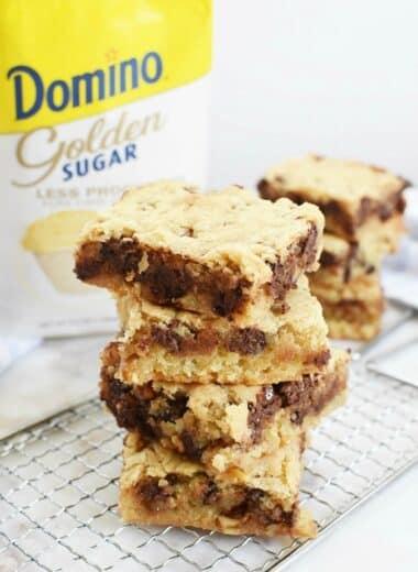 Domino Golden Sugar Blondies