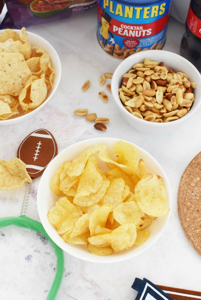 Game Day salty snacks