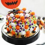 Semi-Homemade Halloween Monster Cake & Cupcake Ideas