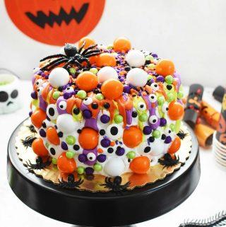 Halloween Monster Cake Idea