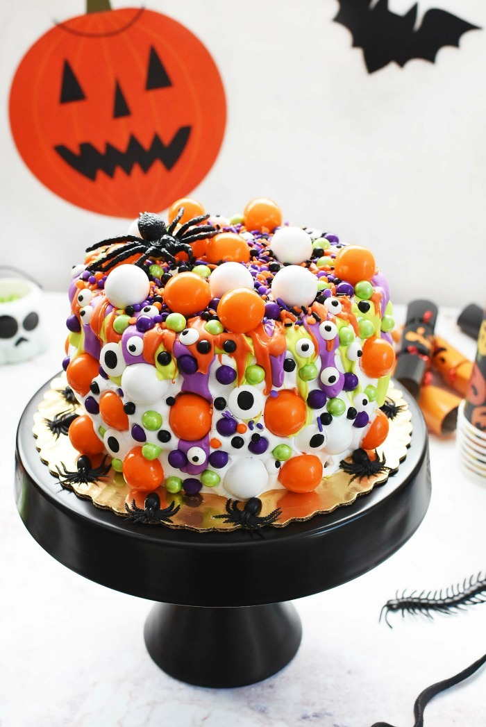 Halloween Monster Cake Idea