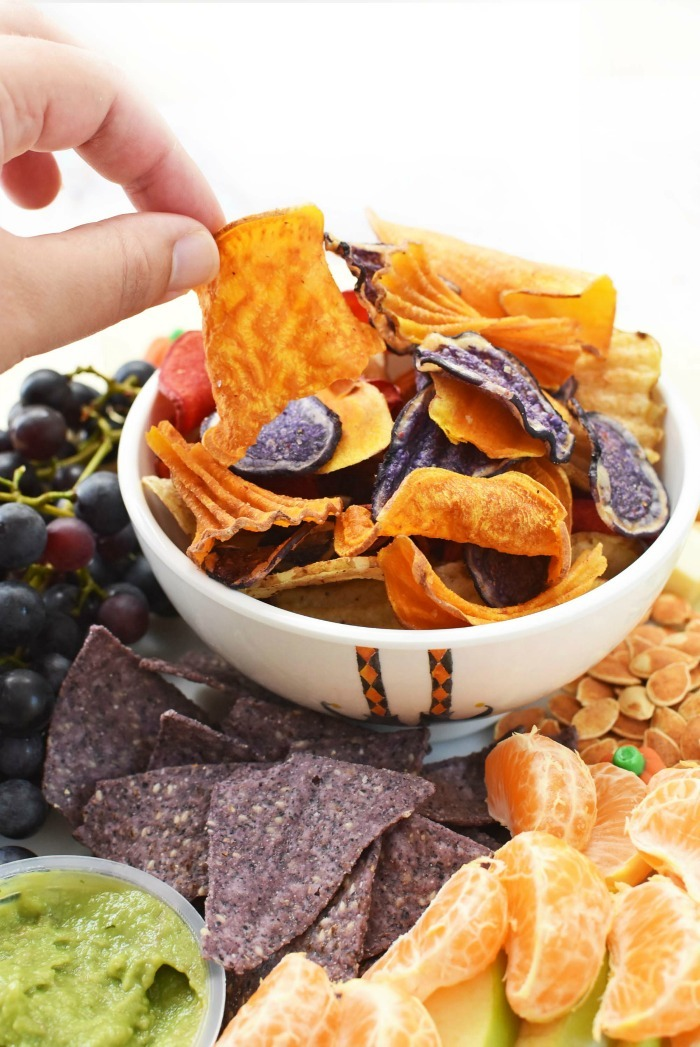 Halloween Chips bowl