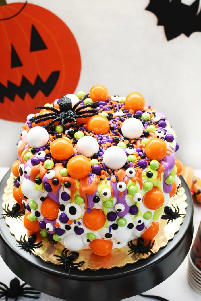 Halloween Eye Cake