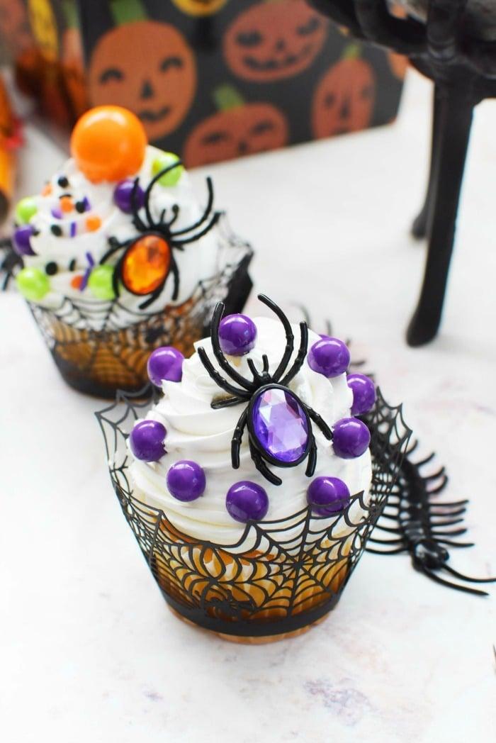 Halloween Gumball Cupcakes