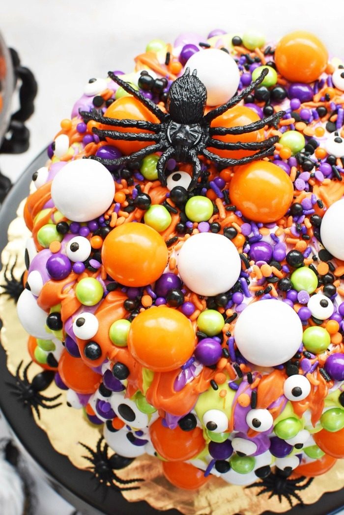 Halloween Monster Eye Cake