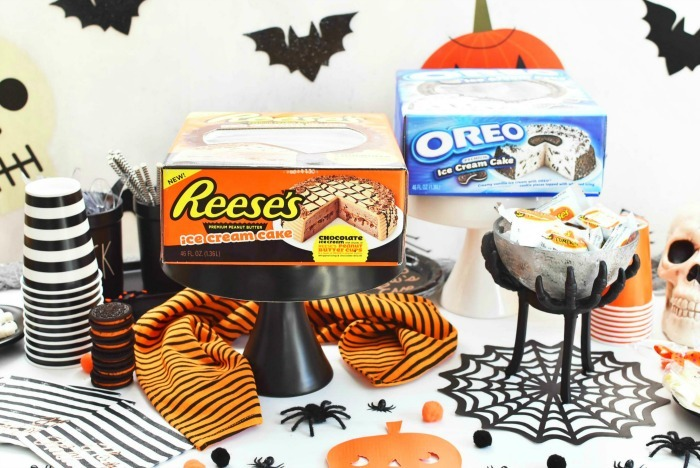 Reese's and Oreo Ice Cream Cakes