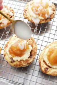 Apple Cream Cheese Cinnamon Danish