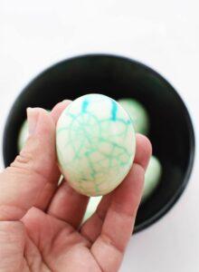 Halloween Boiled Eggs