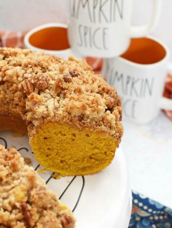 Pumpkin Streusel Bundt Cake