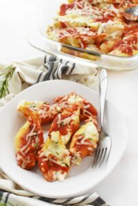 Sausage Cheese Stuffed Shells