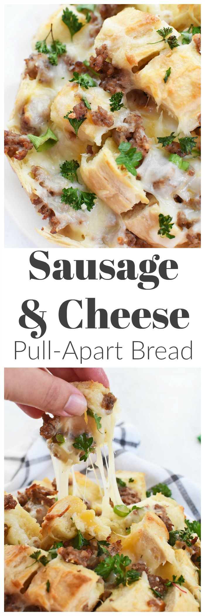 Cheesy Sausage Pull Apart Bread Recipe