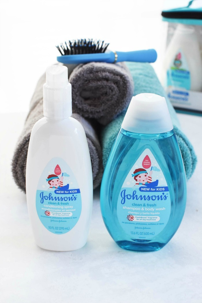 Clean & Fresh Johnsons Gift Set