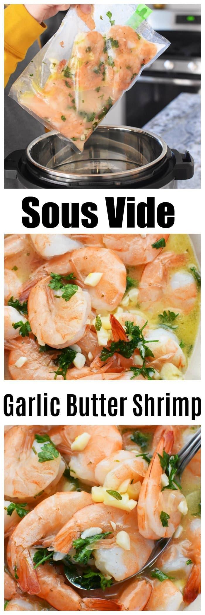 Easy Sous Vide Garlic Butter Shrimp Recipe