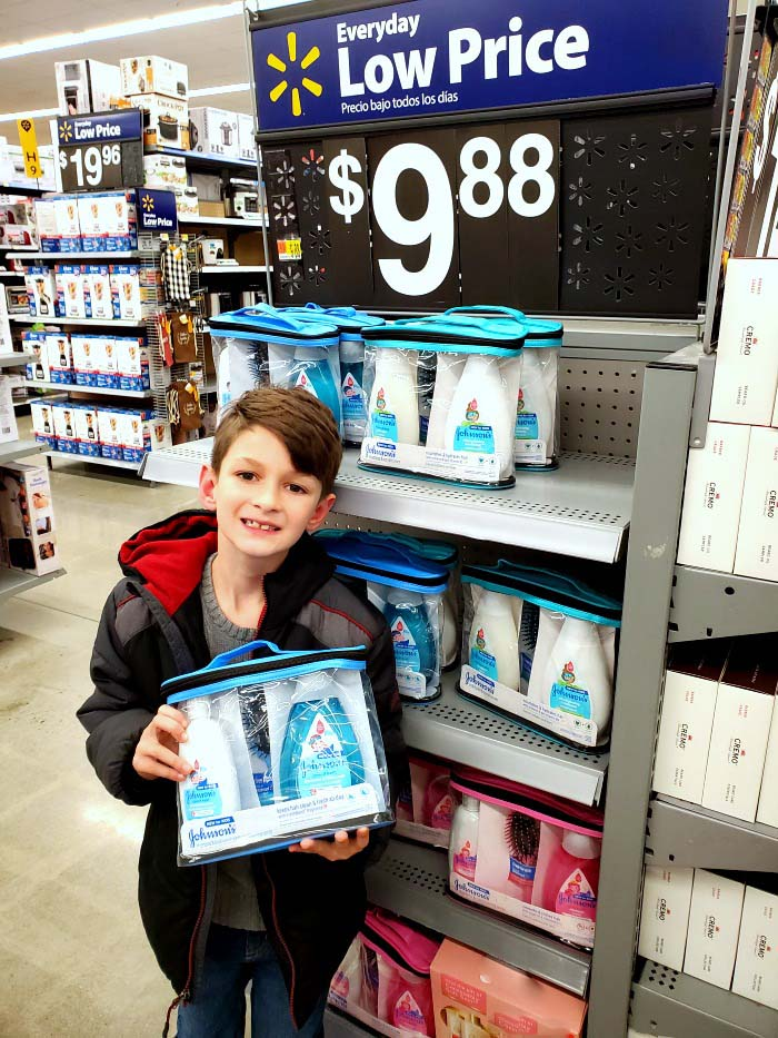 Johnsons gift sets at Walmart