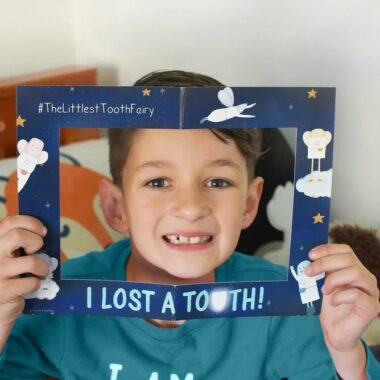 Littlest tooth Fairy sign