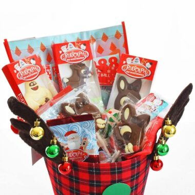 Reindeer Gift Basket Idea
