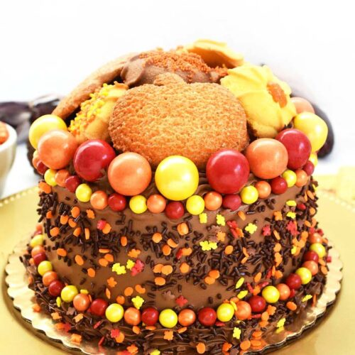 Magnificent Easy Thanksgiving Cake Decorating Ideas Savvy Saving Couple Funny Birthday Cards Online Aboleapandamsfinfo