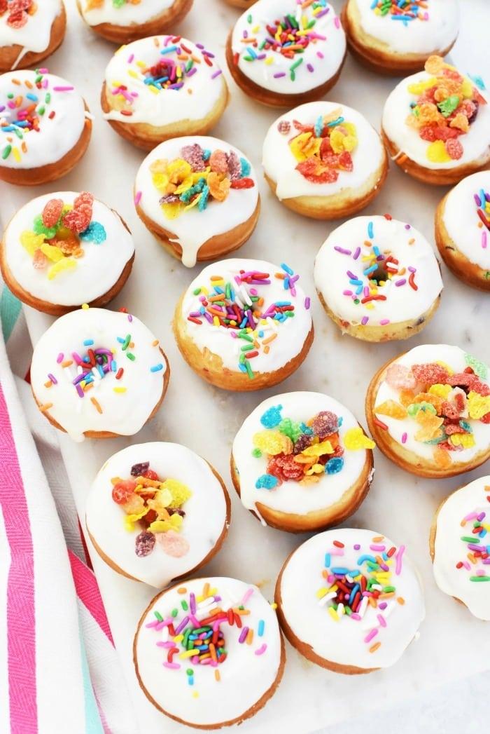 Vanilla Baked Donuts