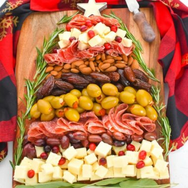 Cheese Board Christmas Tree