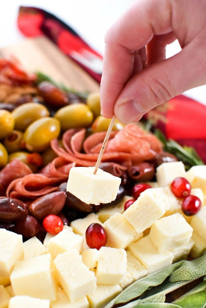 Christmas Tree Charcuterie Board 1