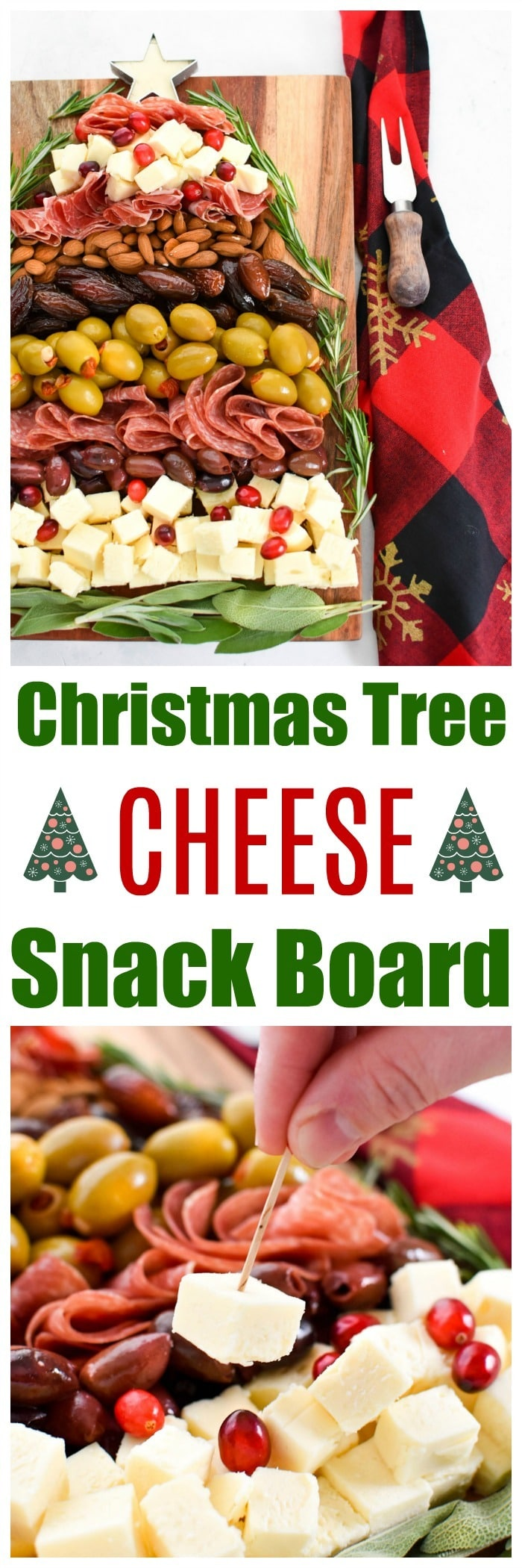 Easy Christmas Cheese Board
