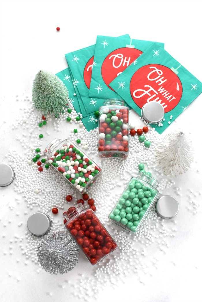 Color It Candy Christmas colors