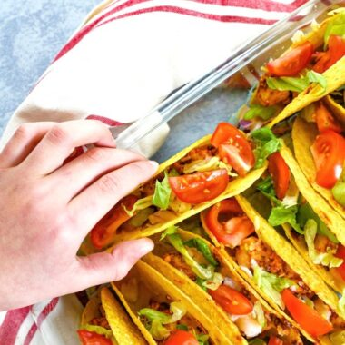 Easy Chicken Taco Bake