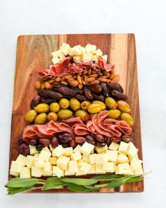 Snack Board Christmas Tree